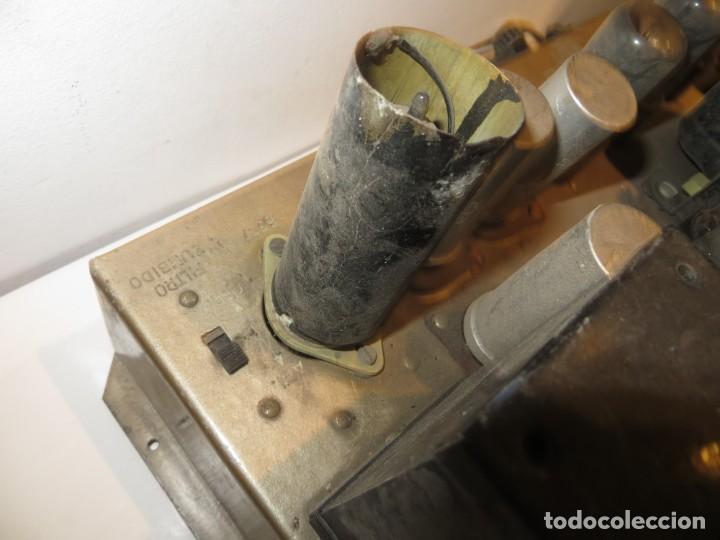 Radios antiguas: AMPLIFICADOR DE VALVULAS MUY ANTIGUO MODELO B-60 DESCONOZCO SI FUNCIONA,BARATO - Foto 6 - 267445869