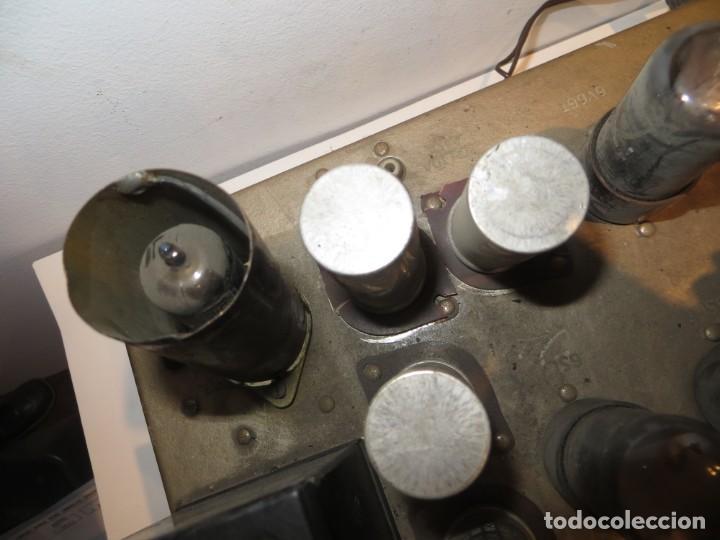 Radios antiguas: AMPLIFICADOR DE VALVULAS MUY ANTIGUO MODELO B-60 DESCONOZCO SI FUNCIONA,BARATO - Foto 7 - 267445869