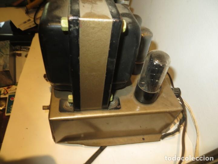 Radios antiguas: AMPLIFICADOR DE VALVULAS MUY ANTIGUO MODELO B-60 DESCONOZCO SI FUNCIONA,BARATO - Foto 9 - 267445869