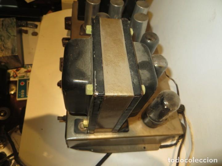 Radios antiguas: AMPLIFICADOR DE VALVULAS MUY ANTIGUO MODELO B-60 DESCONOZCO SI FUNCIONA,BARATO - Foto 10 - 267445869