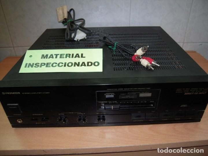 ESTUPENDO AMPLIFICADOR PIONEER STEREO AMPLIFIER A-X320 REVISADO Y FUNCIONANDO (Radios, Gramófonos, Grabadoras y Otros - Amplificadores y Micrófonos de Válvulas)