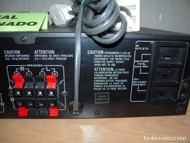 Radios antiguas: Estupendo Amplificador PIONEER Stereo amplifier A-X320 Revisado y Funcionando - Foto 5 - 267871809