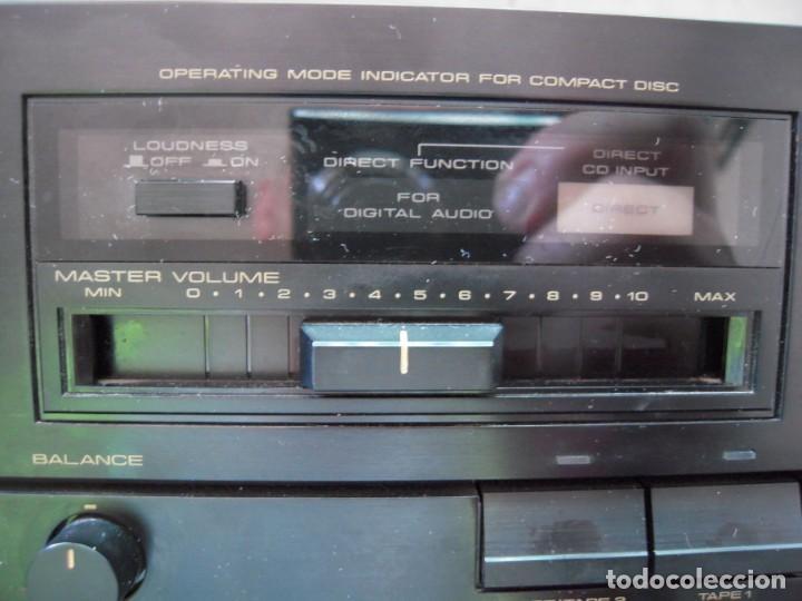 Radios antiguas: Estupendo Amplificador PIONEER Stereo amplifier A-X320 Revisado y Funcionando - Foto 6 - 267871809