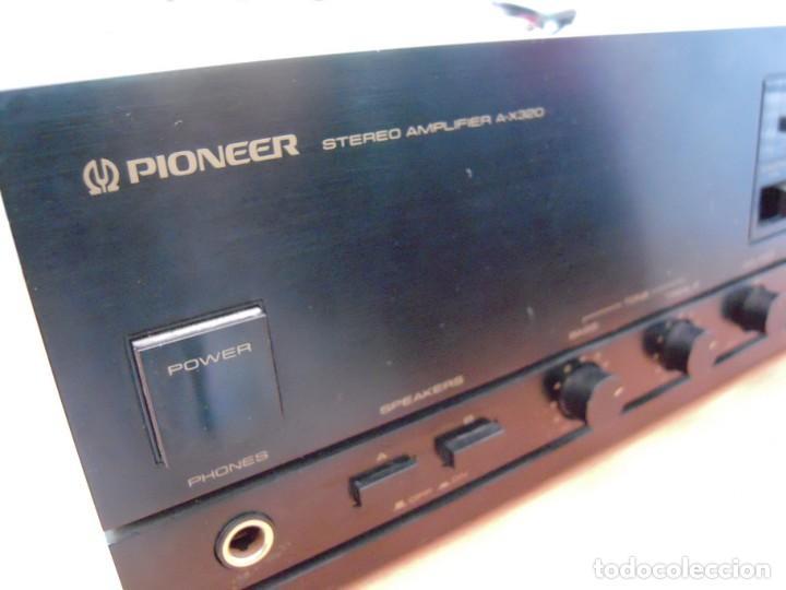 Radios antiguas: Estupendo Amplificador PIONEER Stereo amplifier A-X320 Revisado y Funcionando - Foto 10 - 267871809