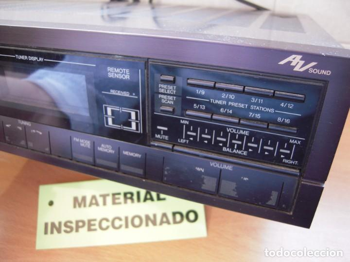 Radios antiguas: Estupendo AMPLIFICADOR Sintonizador con Ecualizador Estereo JVC RX3 BK Japan Vintage Funcionando - Foto 5 - 267873024
