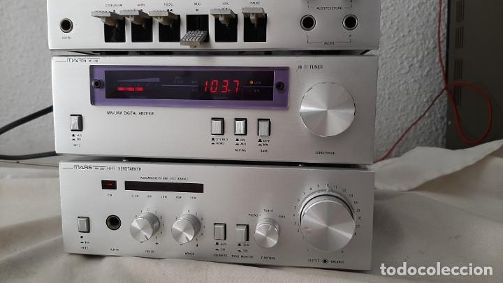 Radios antiguas: MINI EQUIPO DE MUSICA MARS MV-100 - Foto 5 - 268161794