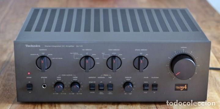 HIGH END /AMPLIFICADOR TECHNICS SU-V6 - NEW CLASS A / RECAP / (Radios, Gramófonos, Grabadoras y Otros - Amplificadores y Micrófonos de Válvulas)