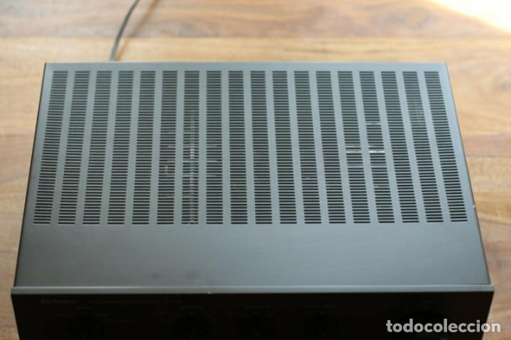 Radios antiguas: high end /Amplificador Technics su-v6 - New Class A / recap / - Foto 5 - 269003809