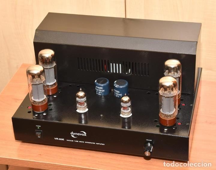 AMPLIFICADOR A VALVULAS DE 80W DYNAVOX VR-80E (Radios, Gramófonos, Grabadoras y Otros - Amplificadores y Micrófonos de Válvulas)
