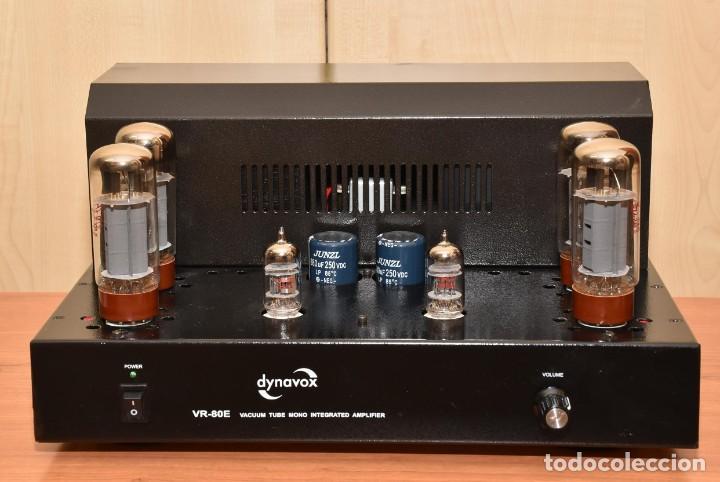 Radios antiguas: AMPLIFICADOR A VALVULAS DE 80W DYNAVOX VR-80E - Foto 2 - 269166918