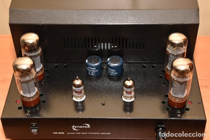 Radios antiguas: AMPLIFICADOR A VALVULAS DE 80W DYNAVOX VR-80E - Foto 7 - 269166918