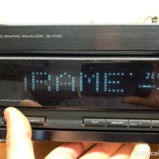 Radios antiguas: ECUALIZADOR GRÁFICO KENWOOD GE-7030. Lote 272972043