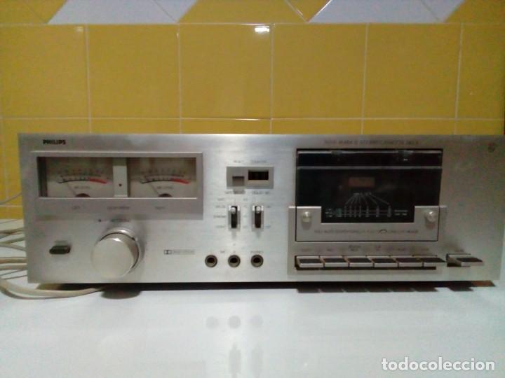 Radios antiguas: PHILIPS N5151 MARK II HI-FI PLETINA VINTAGE DE ALTA GAMA - Foto 3 - 272993203