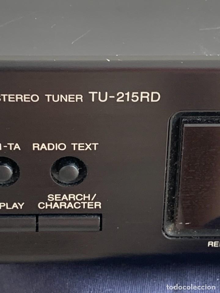 Radios antiguas: AMPLIFICADOR DENON TU-215RD PRECISION STEREO TUNER NIPPON COLUMBIA CO LTD MADE IN GERMANY 6X43X22CMS - Foto 5 - 274177958