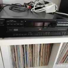 Radios antiguas: REPRODUCTOR CD - CARGADOR 5 DISCOS - SONY CDP-C535-AÑO 1995-MUY BUEN ESTADO. Lote 274526038