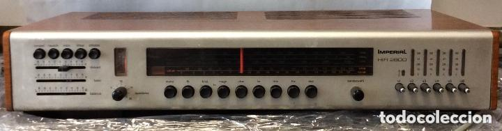 AMPLIFICADOR VINTAGE IMPERIAL HIFI 2800 ,IDEAL COLECCIONISTAS (Radios, Gramófonos, Grabadoras y Otros - Amplificadores y Micrófonos de Válvulas)