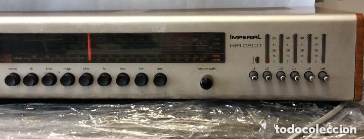 Radios antiguas: AMPLIFICADOR VINTAGE IMPERIAL HIFI 2800 ,IDEAL COLECCIONISTAS - Foto 3 - 275324558