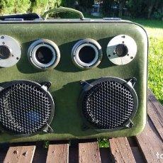 Radios antiguas: MALETA MUSICAL VINTAGE 150 WATIOS. Lote 275862673