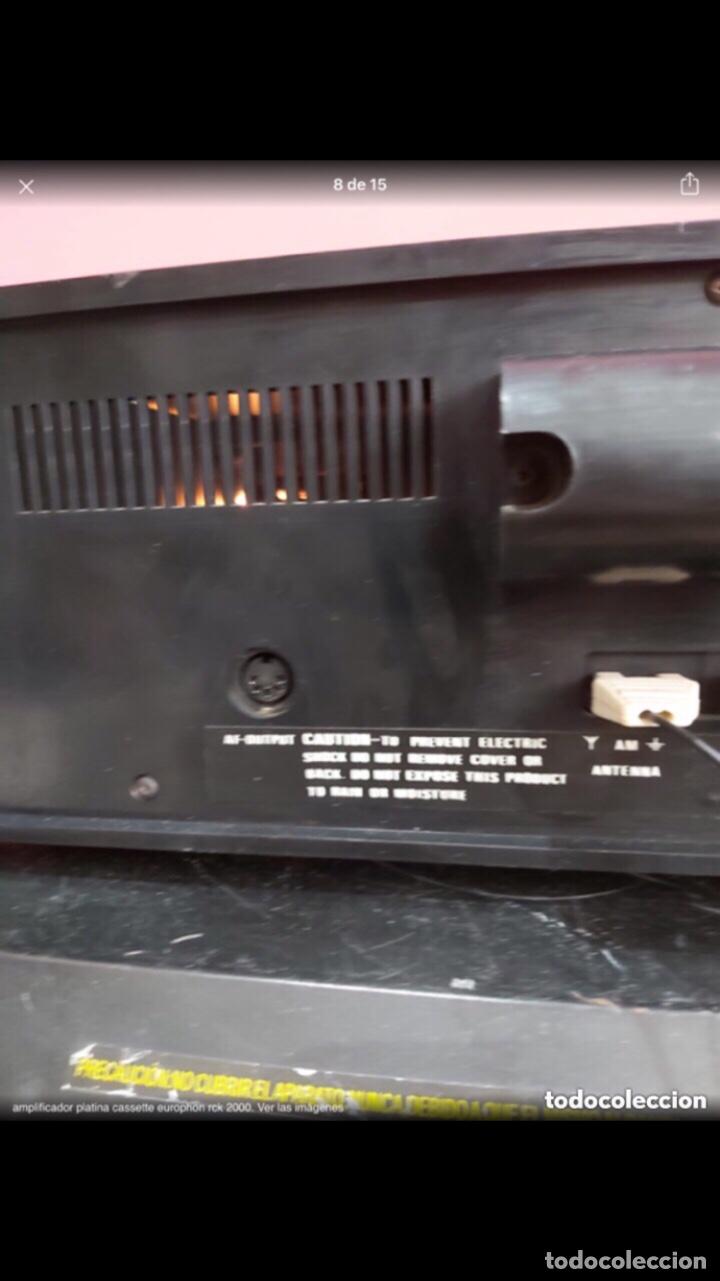 Radios antiguas: amplificador platina cassette europhon rck 2000. Ver las imágenes - Foto 8 - 275917973