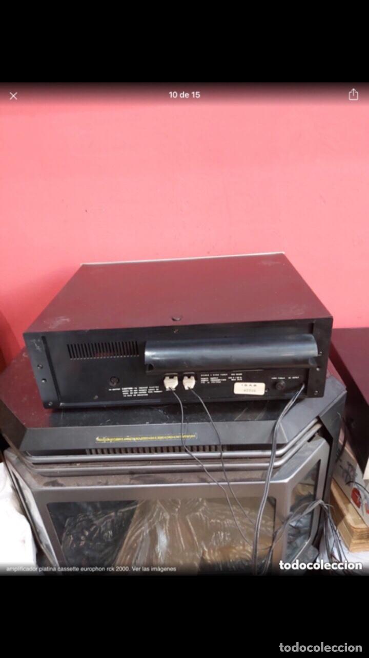 Radios antiguas: amplificador platina cassette europhon rck 2000. Ver las imágenes - Foto 10 - 275917973