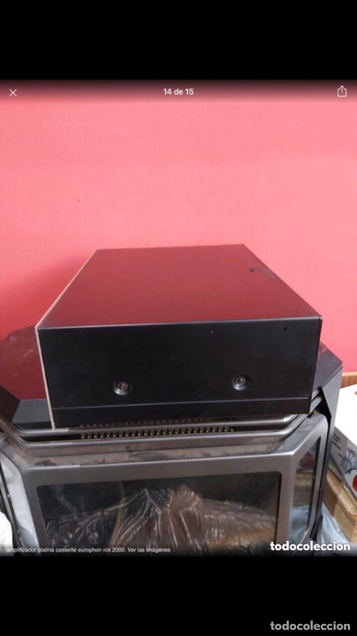 Radios antiguas: amplificador platina cassette europhon rck 2000. Ver las imágenes - Foto 13 - 275917973