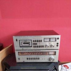 Radios antiguas: AMPLIFICADOR PLATINA CASSETTE EUROPHON RCK 2000. VER LAS IMÁGENES. Lote 275917973