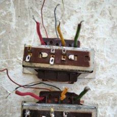 Radios antiguas: PAREJA DE TRANSFORMADORES PARA SALIDA DE AUDIO. Lote 277263778