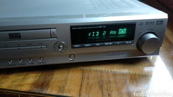 Radios antiguas: Amplificador daewoo dv115 - Foto 5 - 277521188