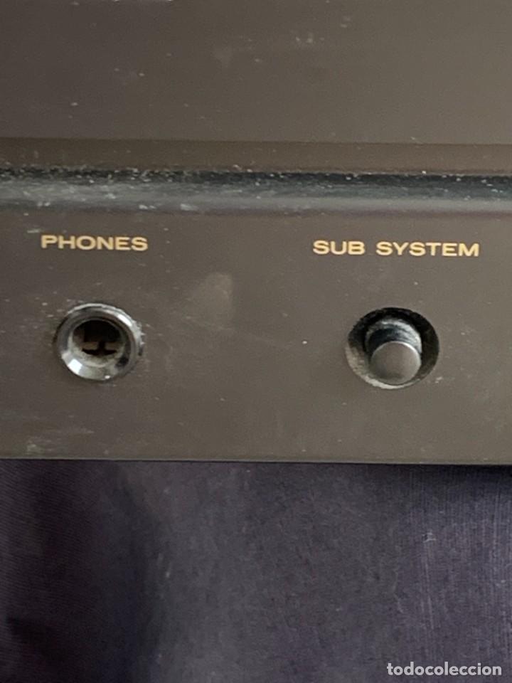 Radios antiguas: AMPLIFICADOR MARANTZ 74PM42/00B ESTEREO AMPLIFIER MADE IN JAPAN 12X41X28CMS - Foto 5 - 283627673