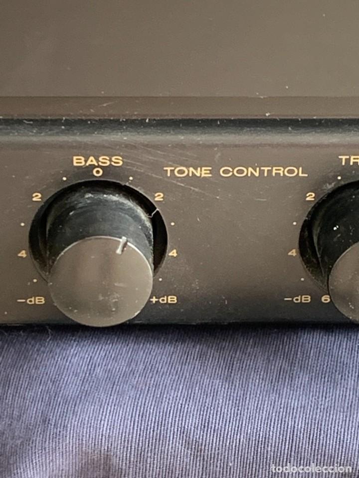 Radios antiguas: AMPLIFICADOR MARANTZ 74PM42/00B ESTEREO AMPLIFIER MADE IN JAPAN 12X41X28CMS - Foto 6 - 283627673