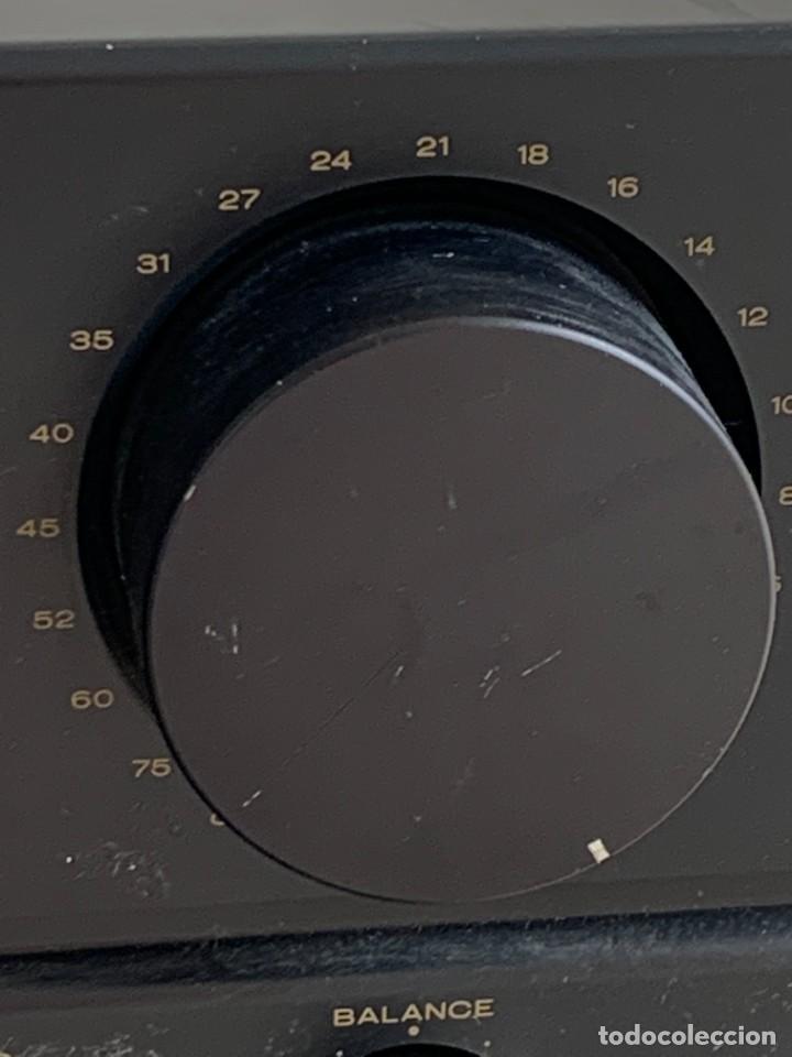 Radios antiguas: AMPLIFICADOR MARANTZ 74PM42/00B ESTEREO AMPLIFIER MADE IN JAPAN 12X41X28CMS - Foto 10 - 283627673