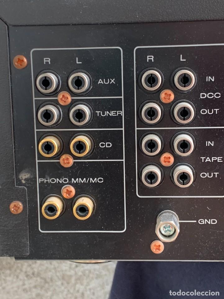 Radios antiguas: AMPLIFICADOR MARANTZ 74PM42/00B ESTEREO AMPLIFIER MADE IN JAPAN 12X41X28CMS - Foto 13 - 283627673