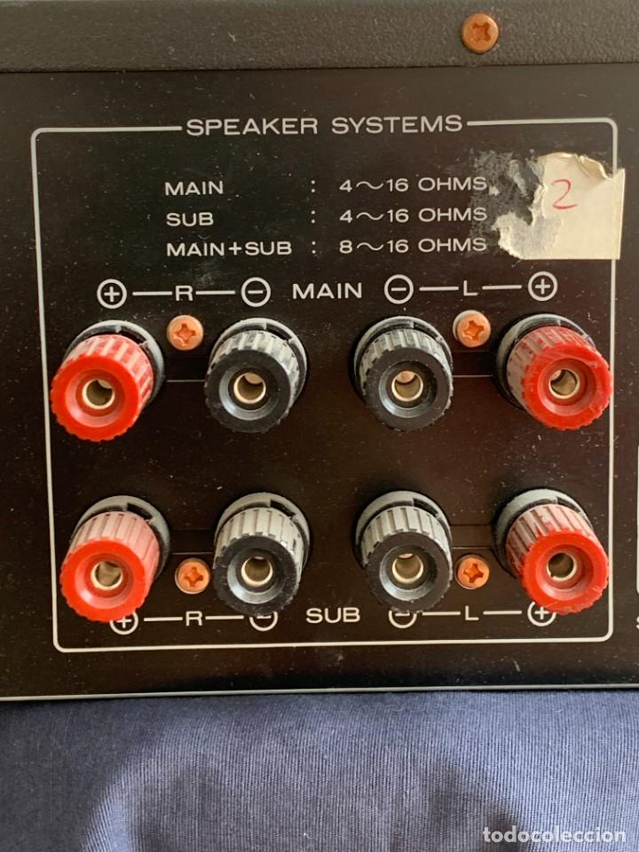 Radios antiguas: AMPLIFICADOR MARANTZ 74PM42/00B ESTEREO AMPLIFIER MADE IN JAPAN 12X41X28CMS - Foto 14 - 283627673