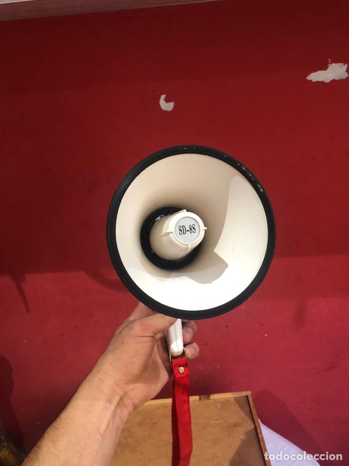 Radios antiguas: megafono hanking en buen estado y funcionamiento. Ver fotos - Foto 3 - 287475568
