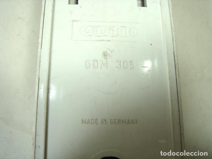 Radios antiguas: ANTIGUO MICROFONO GRABADORA- GRUNDIG GDM 305 -CLAVIJA DIN 7-GERMANY 60S 70-GRUNDING 2 - Foto 6 - 287653483