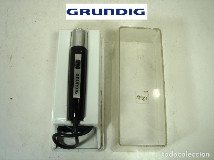 ANTIGUO MICROFONO GRABADORA- GRUNDIG GDM 305 -CLAVIJA DIN 7-GERMANY 60S 70-GRUNDING 2 (Radios, Gramófonos, Grabadoras y Otros - Amplificadores y Micrófonos de Válvulas)