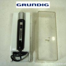 Radios antiguas: ANTIGUO MICROFONO GRABADORA- GRUNDIG GDM 305 -CLAVIJA DIN 7-GERMANY 60S 70-GRUNDING 2. Lote 287653483