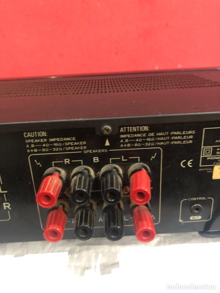 Radios antiguas: AMPLIFICADOR PIONEER STEREO modelo A-305R . Junio 1996 .Ver fotos - Foto 2 - 288361513