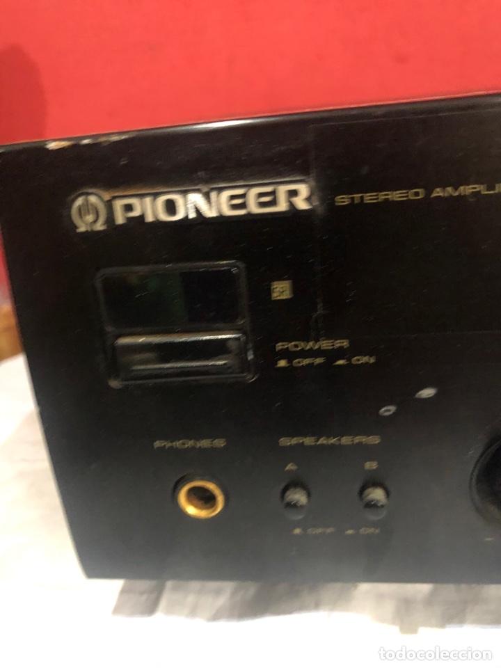 Radios antiguas: AMPLIFICADOR PIONEER STEREO modelo A-305R . Junio 1996 .Ver fotos - Foto 5 - 288361513