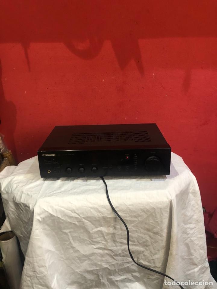 AMPLIFICADOR PIONEER STEREO MODELO A-305R . JUNIO 1996 .VER FOTOS (Radios, Gramófonos, Grabadoras y Otros - Amplificadores y Micrófonos de Válvulas)