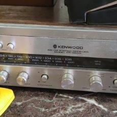Radios antiguas: AMPLIFICADOR KENWOOD KR2600. FUNCIONA. Lote 289669983