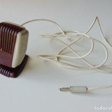 Radios antiguas: MICRÓFONO PARA MAGNETOFÓN INGRA. Lote 294056843