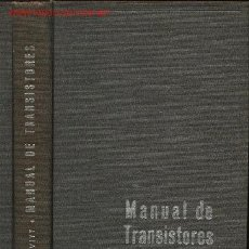 Radios antiguas: MANUAL DE TRANSISTORES, POR WILLIAM DEALTRY BEVITT. 1957. Lote 22743822