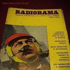 Radios antiguas: RADIORAMA REVISTA DE RADIO. Lote 19337832
