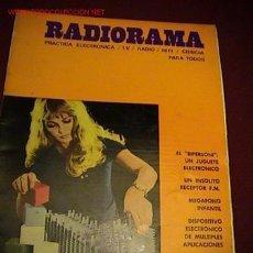 Radios antiguas: RADIORAMA REVISTA DE RADIO. Lote 19337838