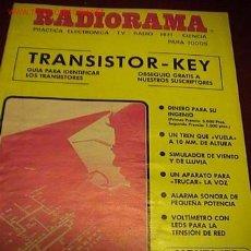 Radios antiguas: RADIORAMA REVISTA DE RADIO. Lote 19337841