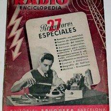 Radios antiguas: RECEPTORES ESPECIALES.- RADIO ENCICLOPEDIA - 1946. Lote 48716068