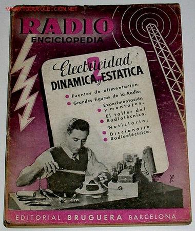 RADIO ENCICLOPEDIA. VOL I I ELECTRICIDAD DINAMICA Y ESTATICA (Radios, Gramófonos, Grabadoras y Otros - Catálogos, Publicidad y Libros de Radio)