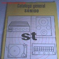 Radios antiguas: CATALOGO GENERAL SONIDO - 1974. Lote 6402729