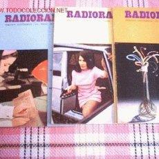 Radios antiguas: RADIORAMA. Lote 22257064